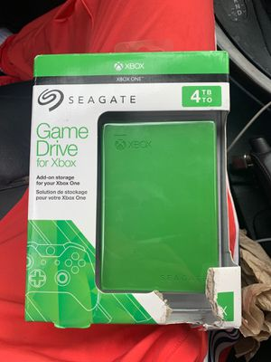 Game drive for xbox 4tb for Sale in Miami, FL