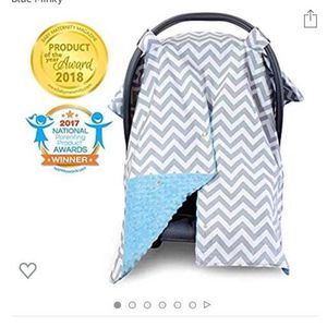 Summer Car Seat Cover, Blue for Sale in Foster City, CA