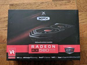 XFX Radeon RX580 8GB GDDR5 Graphics Card for Sale in Philadelphia, PA
