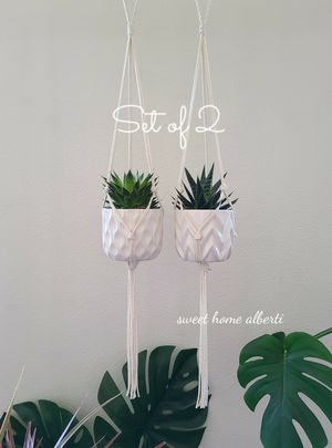Set of 2 Plant Hangers for Sale in Vancouver, WA