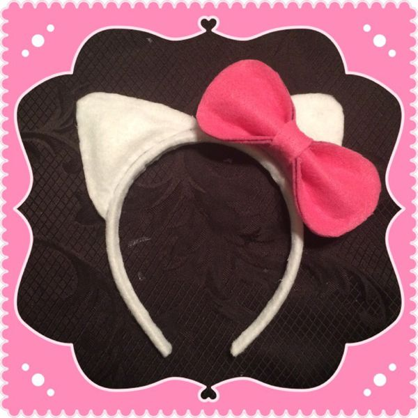 Hello kitty ears