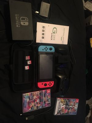 Nintendo switch bundle for Sale in South Attleboro, MA