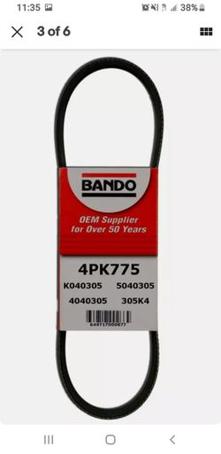 Power Steering Belt/Banda for Sale in Chicago,  IL