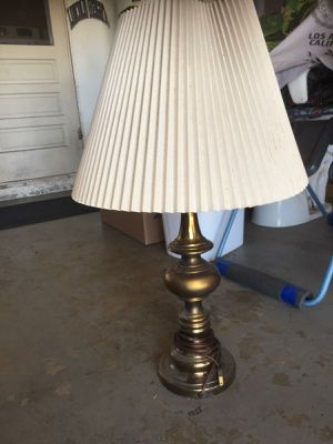 Vintage bronze lamp for Sale in Rancho Cucamonga, CA
