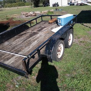 Trailer Double Axle 6 By 12 for Sale in Wauchula, FL