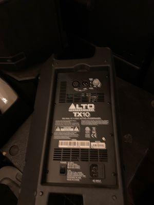 Alto TX10 pair of speakers for Sale in San Jose, CA