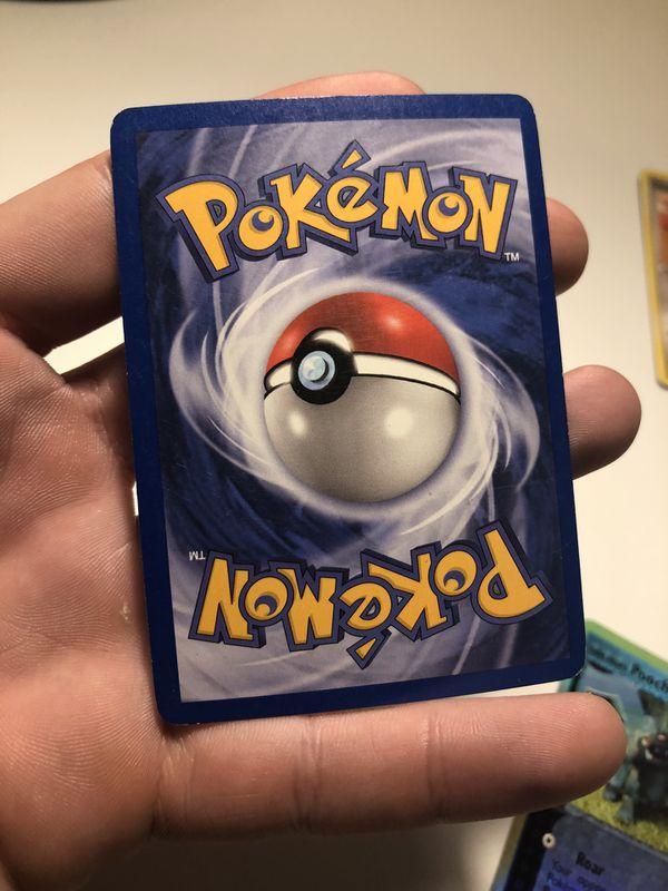 Pokemon Azumarill Holo Card