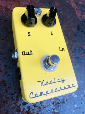 Keeley Compressor - Early 2 knob for Sale in Belmont, MA