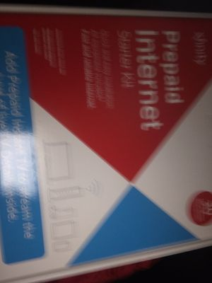 Prepaid internet starter kit xfinity for Sale in East Hartford, CT