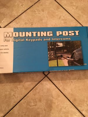 4 Mounting Posts for Digital Keypads: Paid $556 brand new in the box for Sale in Delray Beach, FL