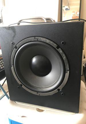 Speaker and subwoofer for Sale in Erial, NJ