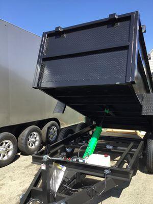 5x10x3 DUMP TRAILER for Sale in Corona, CA