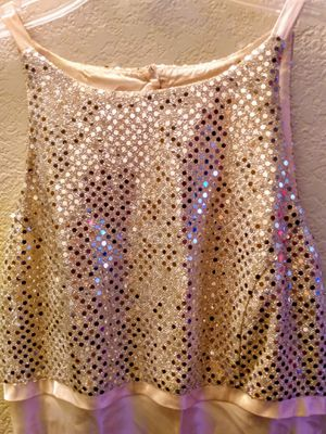 Pink Lemonade Satin Sequins Bridesmaid Gown-$20 each for Sale in Glendale, AZ