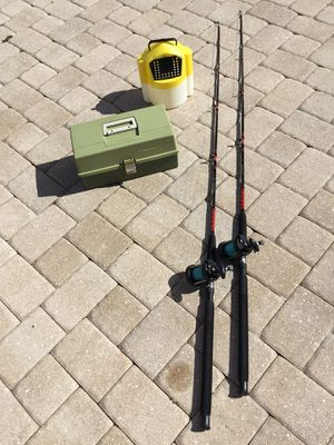 Big game fishing combos C14-3 for Sale in PT CHARLOTTE, FL