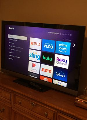 50 inch Sony TV with Remote $60 firm Not a Smart TV for Sale in Everett, WA