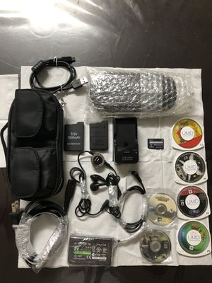 PSP and headphones wireless hf.650 new for Sale in El Cajon, CA