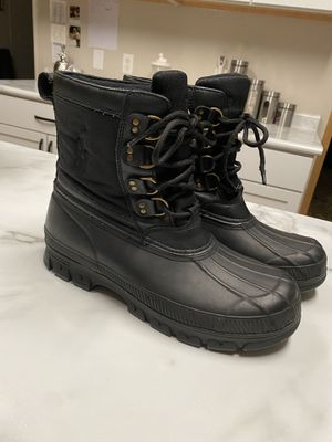 Polo Ralph Lauren Crestwook Rubber Boots Mens 11 for Sale in Sidney, OH