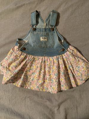 Oshkosh Overall Floral Dress for Sale in Torrance, CA