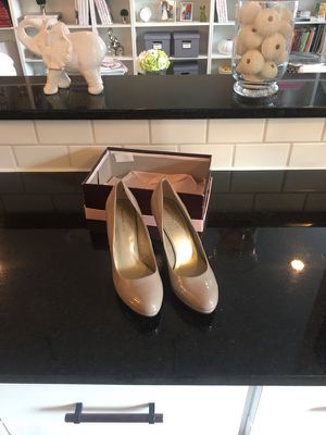 Brand New in Box Patent Leather Nude Bandolino Pumps/Heels for Sale in Philadelphia, PA