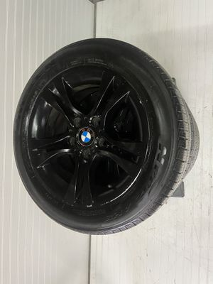 BMW 328i 3-Series E90 Black Wheels Rims And New Tires for Sale in Mather, CA