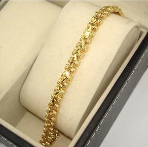 New Yellow Gold Filled 18K 5MM Link Bracelet for Sale in Las Vegas, NV