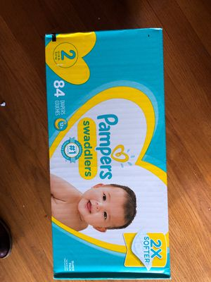 Pampers diapers size 2 - 84 count for Sale in Portland, OR