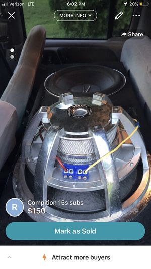 Competition 15s subs for Sale in Port St. Lucie, FL