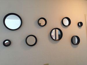 Black Wall Mirrors Decor for Sale in Midlothian, VA