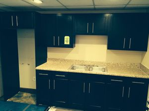 Kitchen cabinets and counter top for Sale in Norfolk, VA