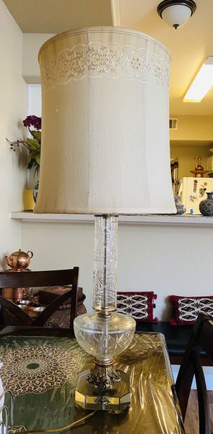 Antique table lamp for Sale in Denver, CO
