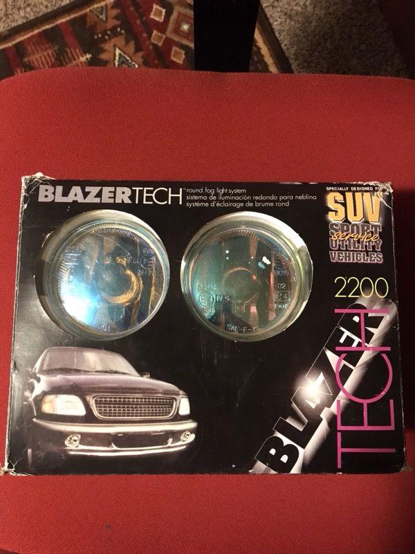 SUV fog lights