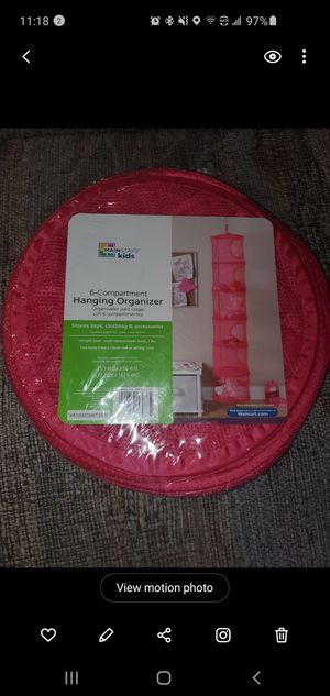 NEW!!! Hanging organizer $5 for Sale in Los Angeles, CA