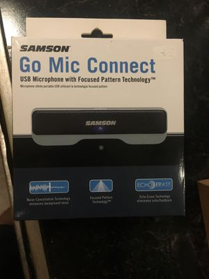 USB microphone (Samson) for Sale in Oakbrook Terrace, IL