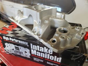 Holley efi sbc intake BRAND NEW for Sale in North Las Vegas, NV