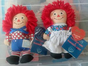 """Raggedy Ann and Andy Dolls 6"""" Anniversary for Sale in Sidney, NE"""