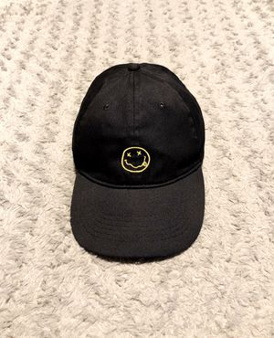 Nirvana classic logo cap Like new! Great condition no rips, tears, or stains. Color black with iconic logo front and name on back. for Sale in Washington, DC