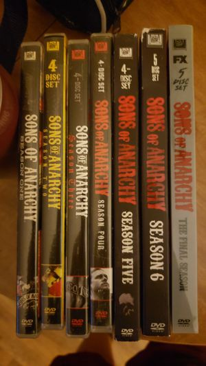 Sons Of Anarchy DVD Complete Set for Sale in Canton, PA