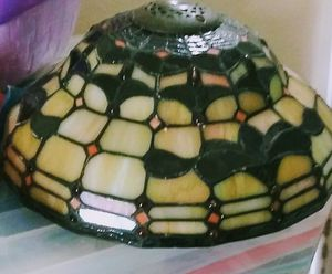 Stained glass antique lamp shade for Sale in Dallas, TX