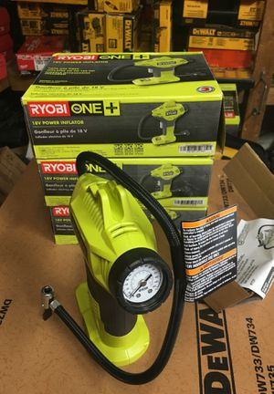 RYOBI 18-Volt ONE+ Cordless Power Inflator (Tool-Only) for Sale in Fontana, CA