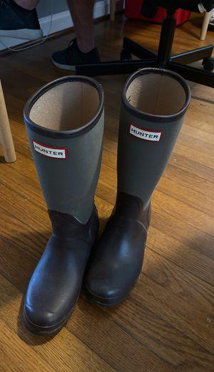 Hunter rain boots size 7 for Sale in Falls Church, VA