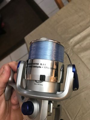 NEW SHAKESPEARE FISHING Fishing Reel NEW LINE spun/Balanced rotor, gear ratio 5.1:1 No returns no refunds for Sale in Hollywood, FL
