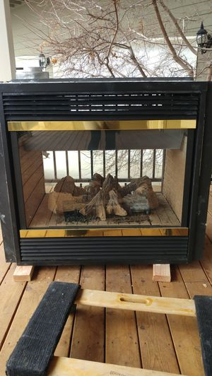 Majestic gas-propane, see-thru fireplace. for Sale in Powell Butte, OR