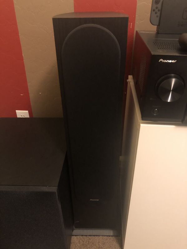 Pioneer Surround System, Pioneer Receiver, with BIC Subwoofer