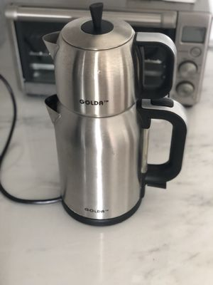 Electric kettle with tea pot on top for Sale in Boston, MA