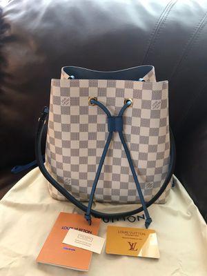 Louis Vuitton LV Damier Azur Neonoe Bucket Bag Purse Handbag for Sale in Waldo, WI
