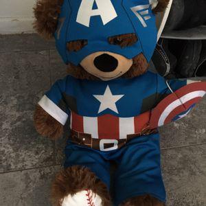 Captain America Bear for Sale in Mesa, AZ