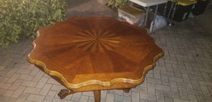 Wooden dining table 4 chairs for Sale in Wesley Chapel, FL