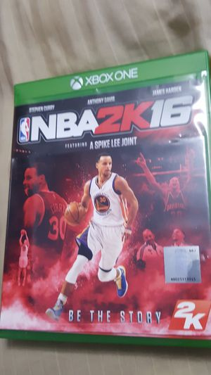 XBOX ONE NBA 2K16 GAME DISC A SPIKE LEE JOINT for Sale in Miami Gardens, FL