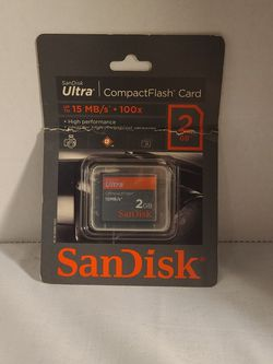 SanDisk 2GB Ultra Compact Flash Card for Sale in Joshua,  TX