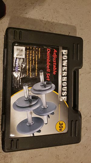 Powerhouse fitness Dumbbells set for Sale in Troutdale, OR
